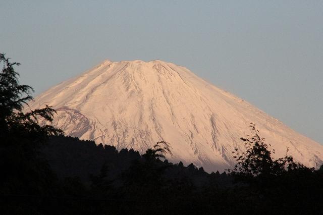 ブルーモーメントのあとの富士山_3