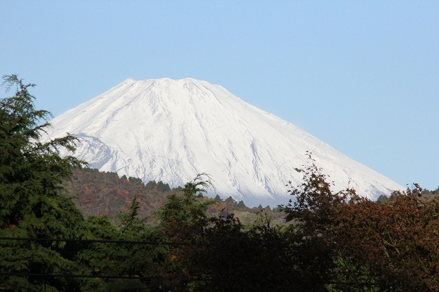 少し日が高くなってからの富士山_1