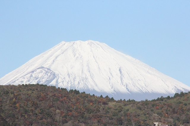少し日が高くなってからの富士山_2