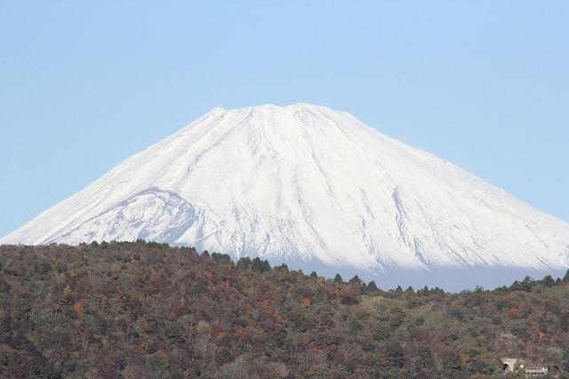 少し日が高くなってからの富士山_4