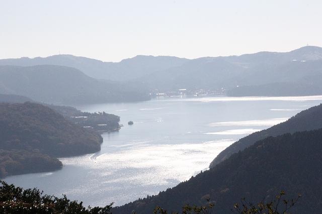 芦ノ湖の鳥瞰図_1