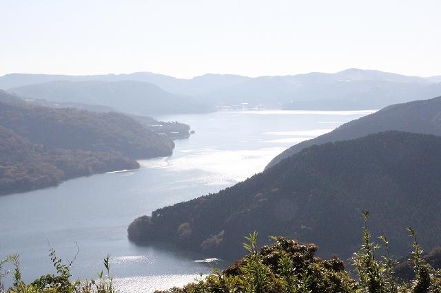 芦ノ湖の鳥瞰図_2