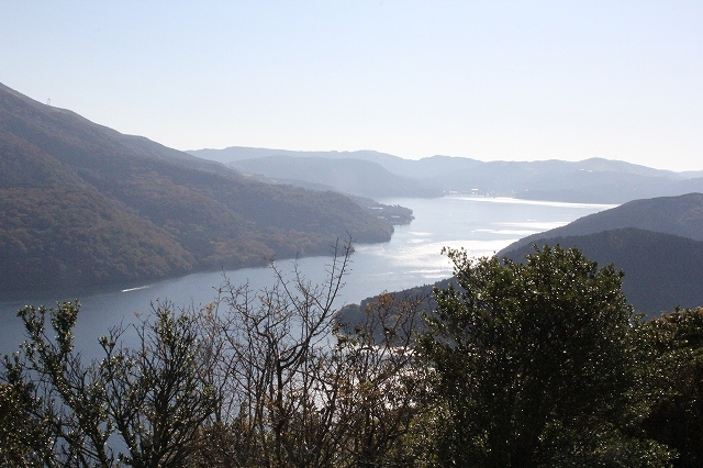 芦ノ湖の鳥瞰図_3