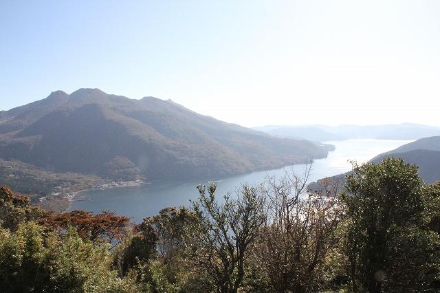 芦ノ湖の鳥瞰図_4