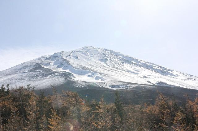 4合目から見た富士山