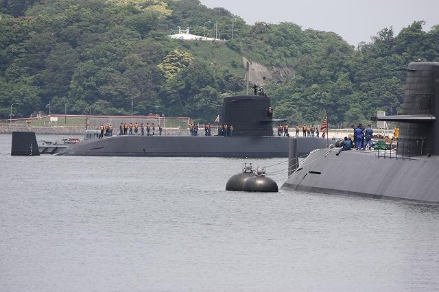潜水艦の着桟まで_6