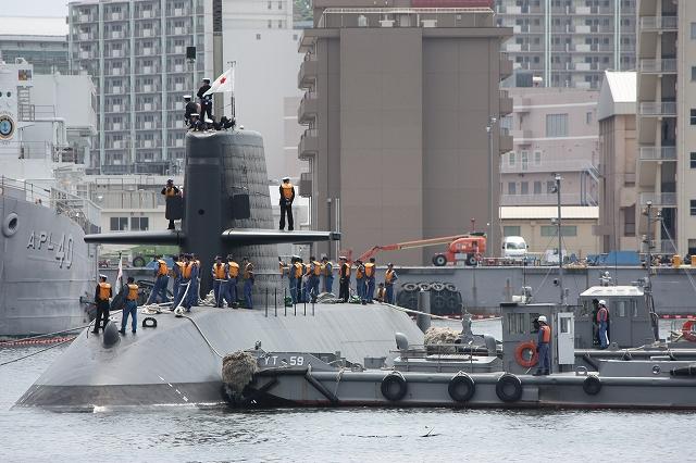 潜水艦の着桟まで_7
