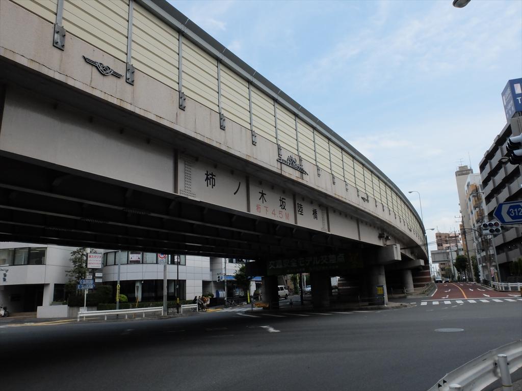 柿の木坂陸橋