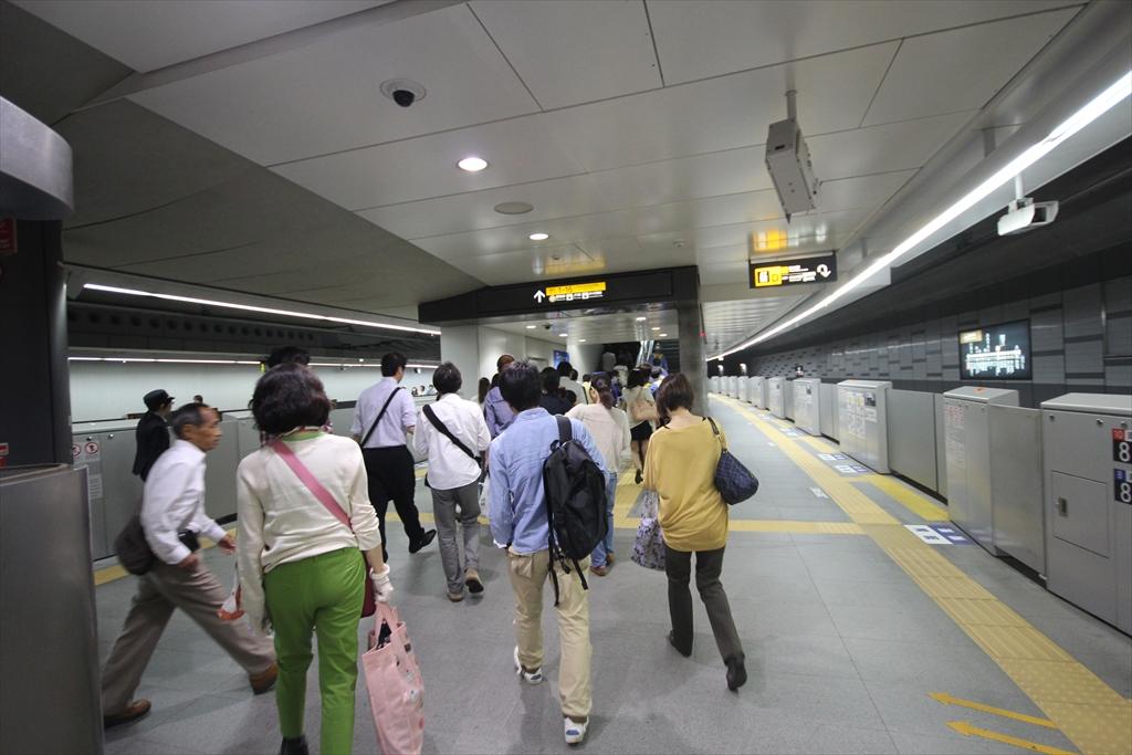 途中渋谷での乗り換え_1