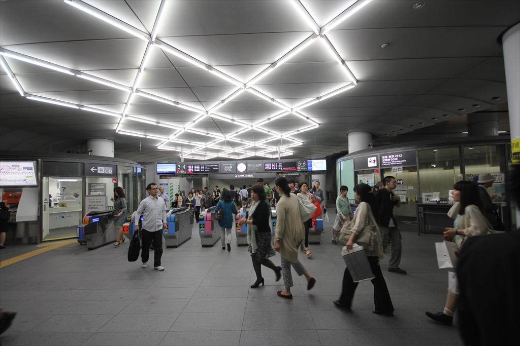 途中渋谷での乗り換え_2