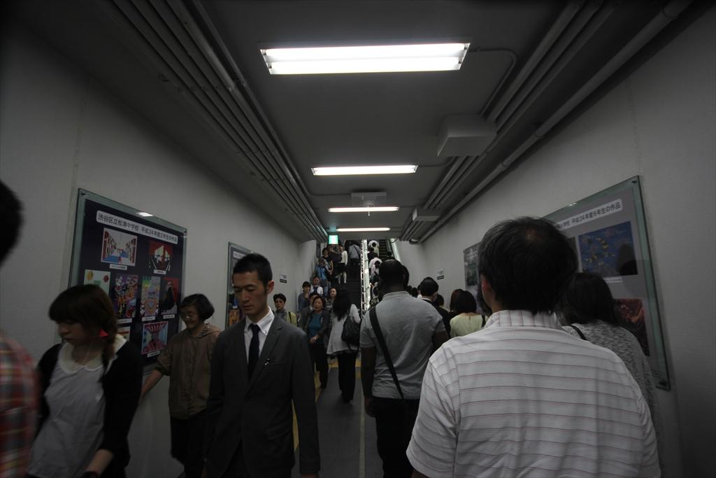 途中渋谷での乗り換え_4