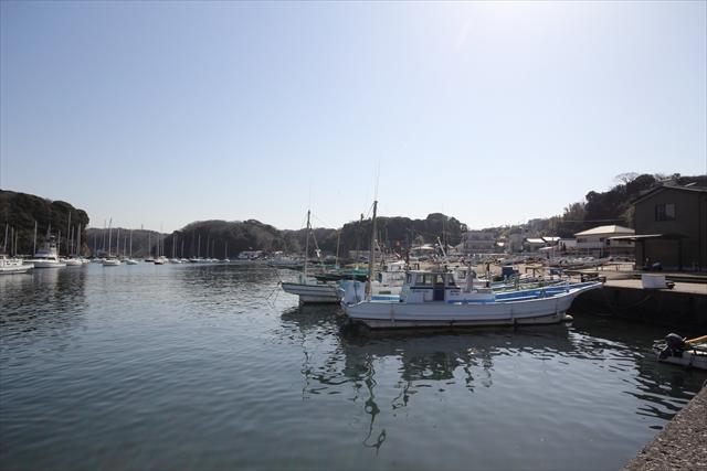 湾内に停泊中のヨット・漁船など_4