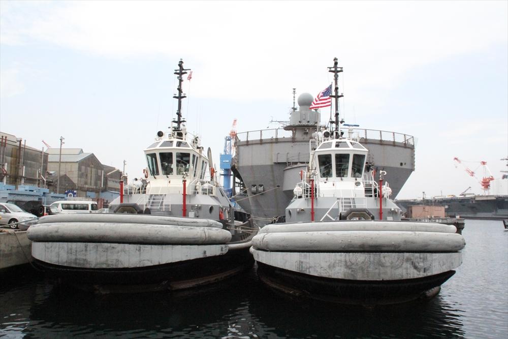 タグボートが2隻