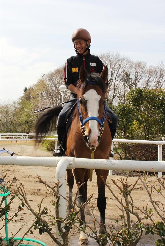 馬場でのトレーニング光景_7