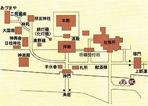 二荒山神社地図
