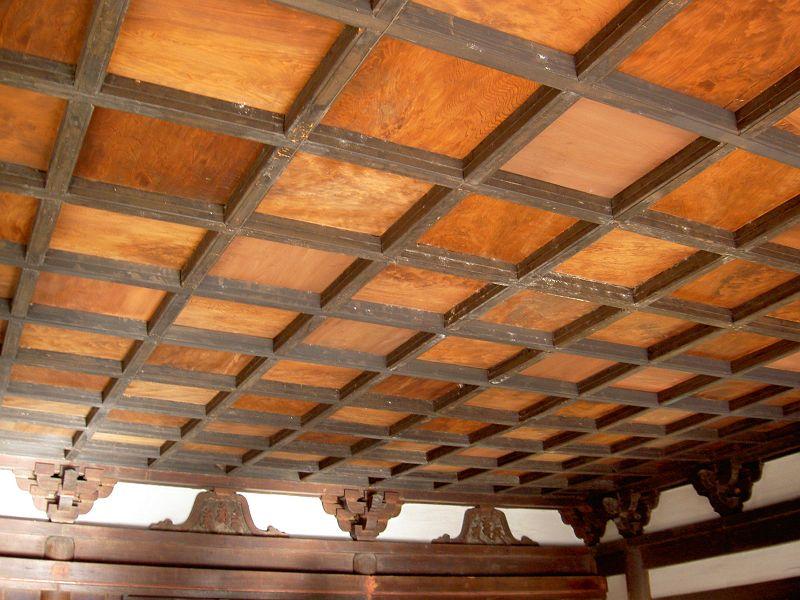 天授院天井
