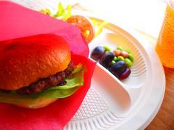 黒毛和牛のハンバーガー