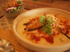 根菜のボロネーゼ