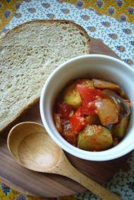 夏野菜のラタトゥユランチ@at home