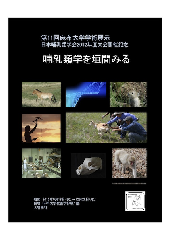 哺乳類学展ポスター12.9.10,-10