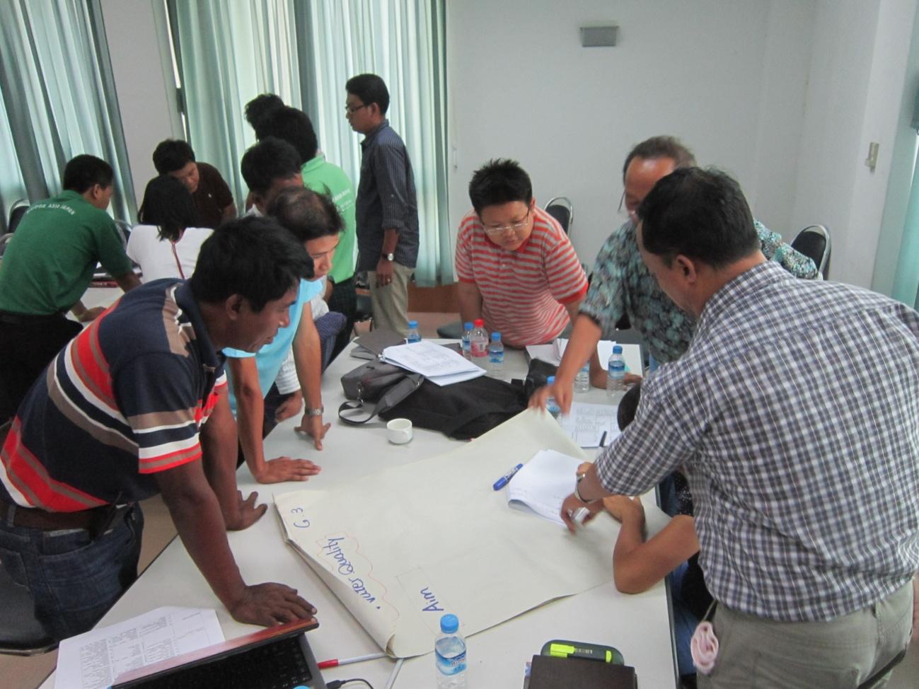 南東国境事業に関するワークショップ2