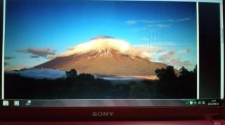 金色の富士山