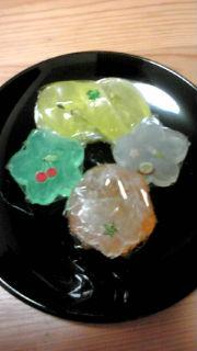 和菓子風の石けん