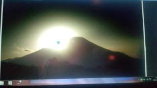 太陽の中に黒い点