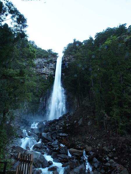 水量の増えた那智の滝