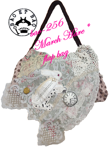 March Hare  flap bag