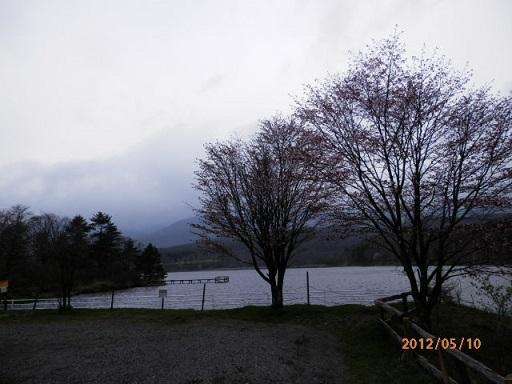 バラギ湖畔
