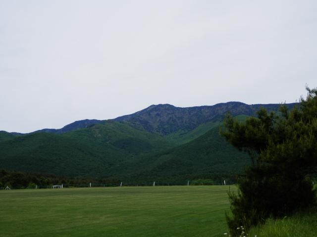 サッカーグランド&四阿山