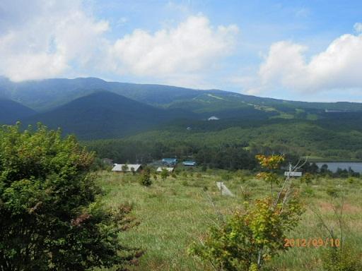 バラギ高原キャンプ場周辺