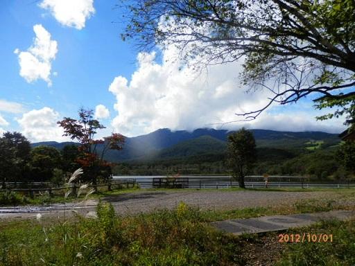 10月のバラギ湖周辺