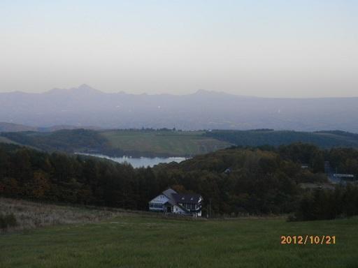 ゲレンデよりのバラギ湖
