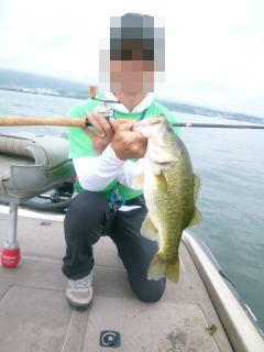 お盆琵琶湖6