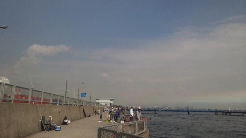桟橋の付け根