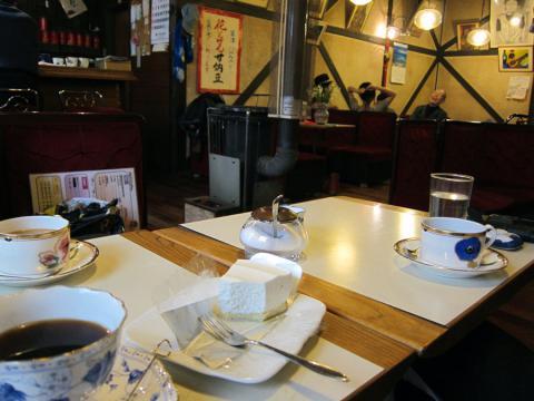 草津のカフェ
