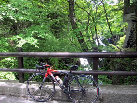 竜頭の滝付近