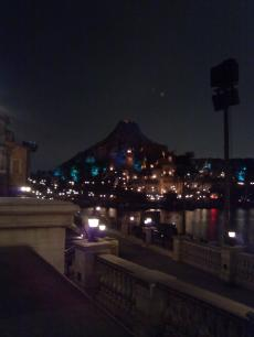 夜のディズニーシー