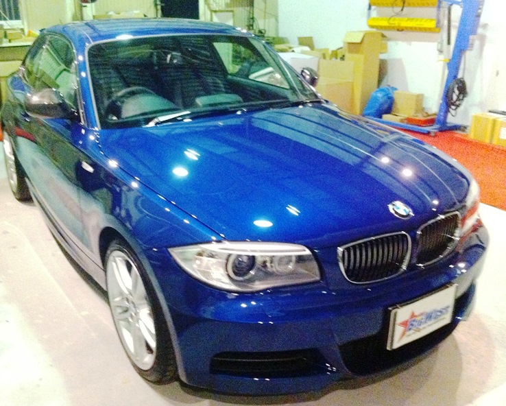 BMW1 クーペ コーティング