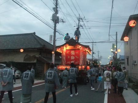 20121012佐倉秋祭り初日 02