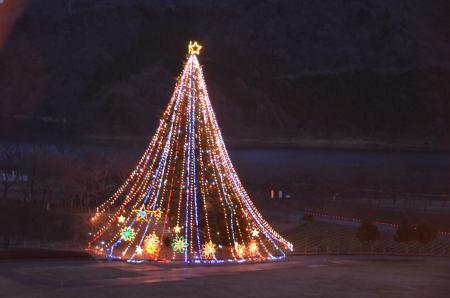 20121216宮ケ瀬湖イルミ18