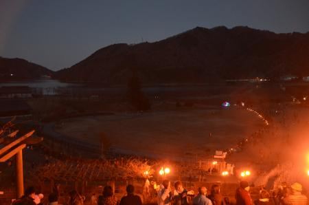20121216宮ケ瀬湖イルミ17