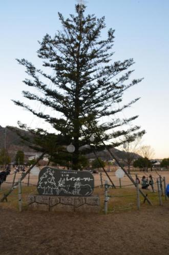 20121216宮ケ瀬湖イルミ14