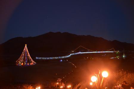 20121216宮ケ瀬湖イルミ19