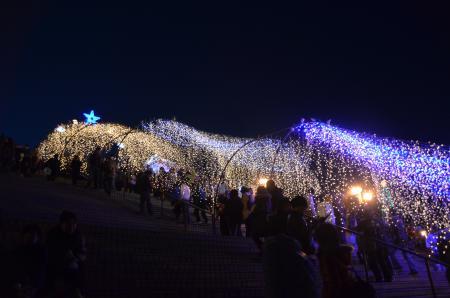 20121216宮ケ瀬湖イルミ27