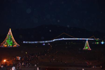 20121216宮ケ瀬湖イルミ26