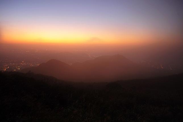霧と夕暮れ(5)