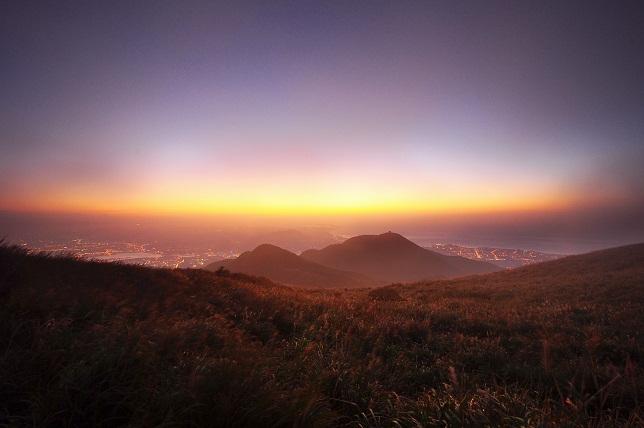 霧と夕暮れ(3)